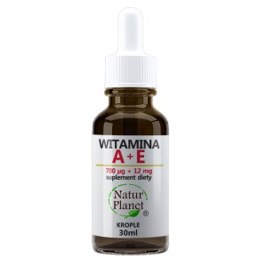 NATUR PLANET Witamina A + E 30ml