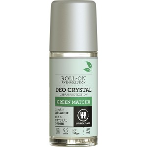 URTEKRAM Naturalny dezodorant roll-on Green Matcha 50ml