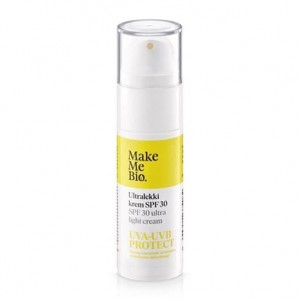 MAKE ME BIO Ultralekki krem z aloesem SPF30 30 ml